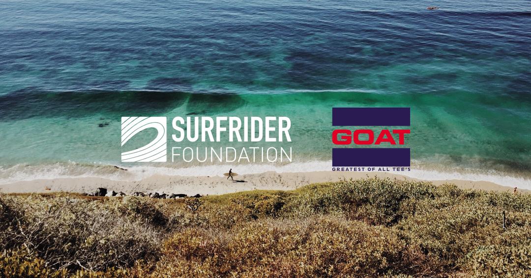 SURFRIDER FOUNDATION JAPAN x GOAT