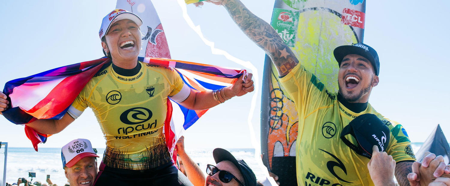 Rip Curl WSL Finals is Most Watched Day of Surfing in WSL History